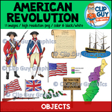 American Revolution Objects Clip Art Bundle {Clip Guy Graphics ClipArt}