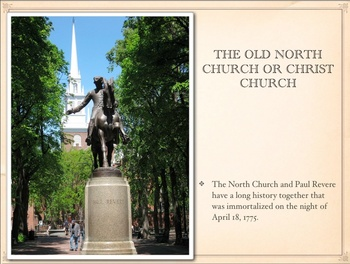 American Revolution - Old North Church and Paul Revere QT Slideshow