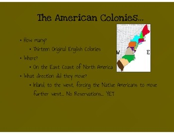 American Revolution Overview Notes