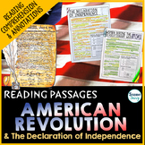 American Revolution Passages | Declaration of Independence
