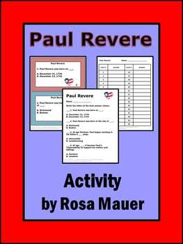 Paul Revere Cornerstones of Freedom