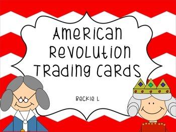 American Revolution People-  SS4H4D