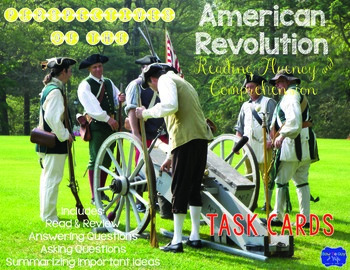 American Revolution Task Cards for Perspectives & Point of View