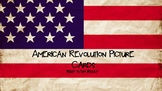 American Revolution Picture Cards for ESL