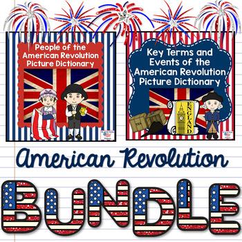 American Revolution Picture Dictionary BUNDLE