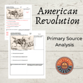 American Revolution - Declaration of Independence: Political Cartoon Analysis