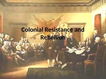 American Revolution Power Point Notes
