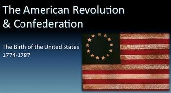 American Revolution PowerPoint - APUSH New Curriculum Fram