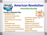 American Revolution PowerPoint Bundle