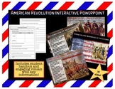 American Revolution PowerPoint with Student Handouts