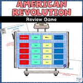 American Revolution Review Game