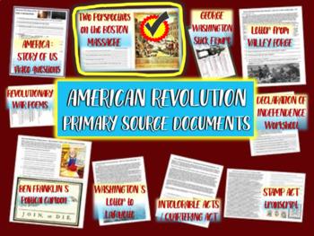 American Revolution Primary Source: 2 views of the Boston Massacre w/ guiding Qs