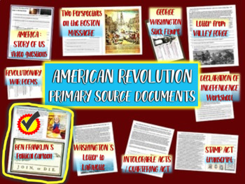 American Revolution Primary Source: Ben Franklin Political