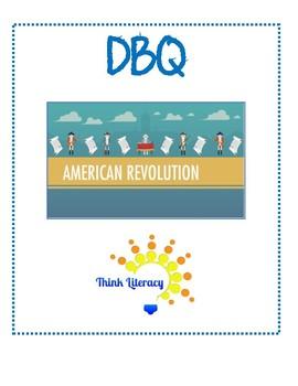 American Revolution Primary Sources & DBQ Essay Writing