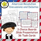 American Revolution Projects and Reviews