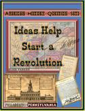 American Revolution Question Sets -- Ideas Help Start a Revolution