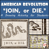 """American Revolution - Recreate the """"JOIN, or DIE."""" Flag"""