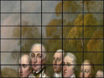 "American Revolution - Recreate the ""Surrender of General Burgoyne"" Painting"