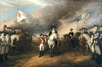 "American Revolution - Recreating the ""Surrender of Lord Cornwallis"" Painting"