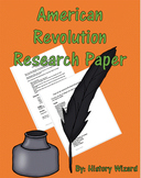 American Revolution Research Paper