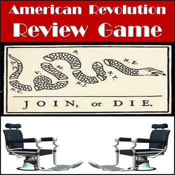 American Revolution Review Game - Game Show Style