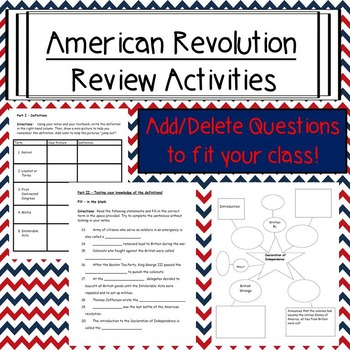revolutionary war homework help