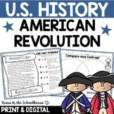 American Revolution | Revolutionary War | Easel Activity D