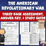 American Revolution Revolutionary War Quiz