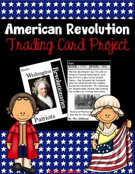American Revolution - Revolutionary War Trading Card Project