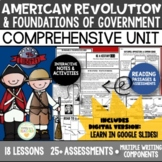 American Revolution/Revolutionary War Unit
