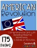American Revolution; Revolutionary War Unit
