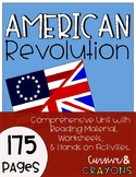 American Revolution; Revolutionary War Unit
