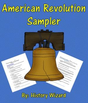 American Revolution Sampler