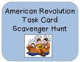 American Revolution Scavenger Hunt Task Cards