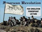 American Revolution Simulation PowerPoint- FUN!!!!