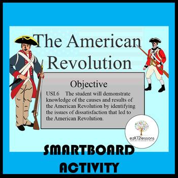 American Revolution Smartboard Lesson