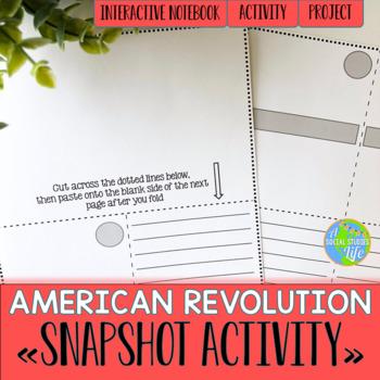 American Revolution Snapshot Activity