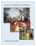 American Revolution: Social Equality Document Based Questions
