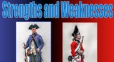 American Revolution Soldiers T-chart PPT.