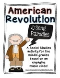 American Revolution Song Parody Activity