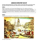 American Revolution Source and Writing Prompt