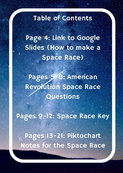 American Revolution Space Race