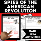 American Revolution Spies CIA Investigation