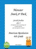 American Revolution Stack & Pack Monster theme