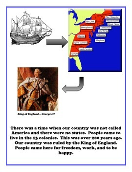 American Revolution Story & If I were a Colonist Activity