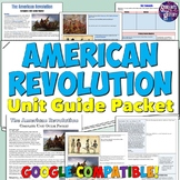 American Revolution Study Guide and Unit Packet