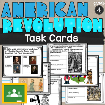 American Revolution Task Cards SS4H1