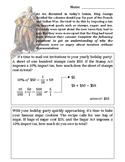 American Revolution Tax Homework Sheet