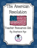 American Revolution Teacher Resources Set