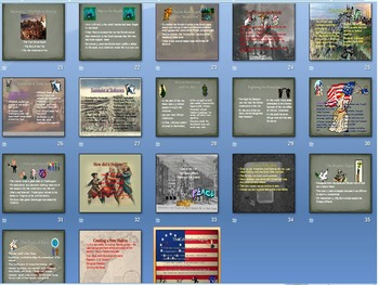 American Revolution: Teaching Unit Power Point